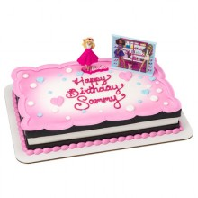 Barbie Love To Sparkle Cake