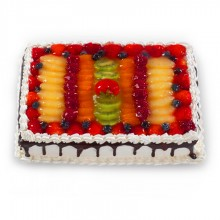 Fancy Fruit Torte Cake